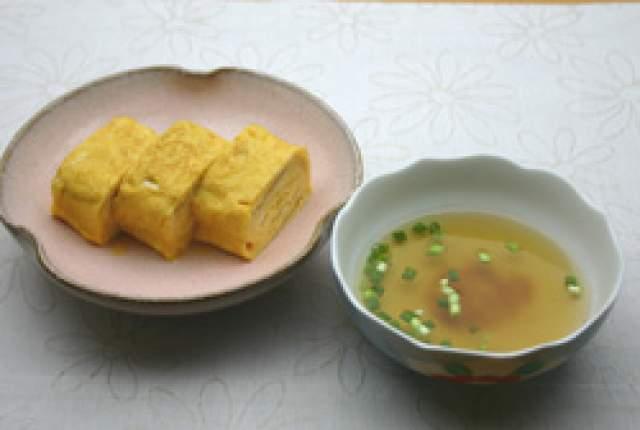 明石焼き風だし巻き卵(兵庫県)