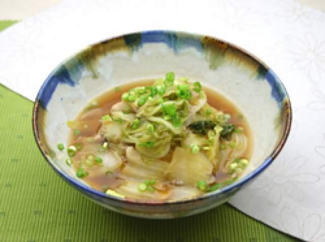 白菜と豚肉のじっくり煮