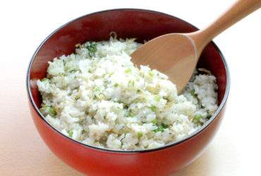 大根菜のご飯