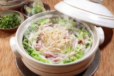 白菜の重ね蒸し鍋