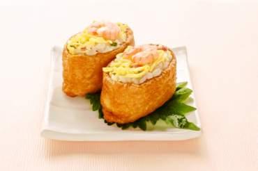 香味野菜のいなり寿司