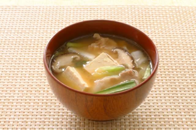 沖縄風みそ汁