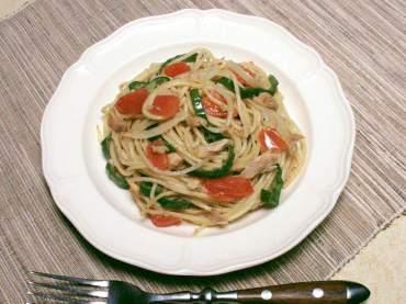 ツナと夏野菜のパスタ