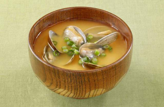 アサリ の 味噌汁 作り方