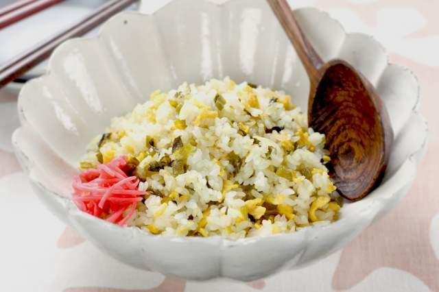 高菜ライス(熊本県)