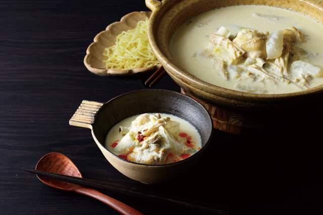 博多風 豆乳鶏水炊き