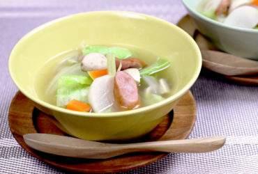 たっぷり野菜のスープ煮