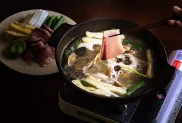 大根とうす揚鰤しゃぶ鍋