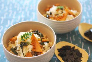 山菜の混ぜご飯