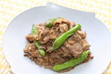 牛肉のスタミナ焼き