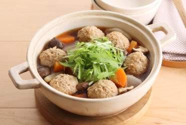 豚団子のハリハリ味噌鍋