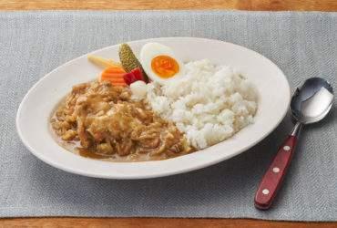 【減塩】手作りルウのチキンカレー