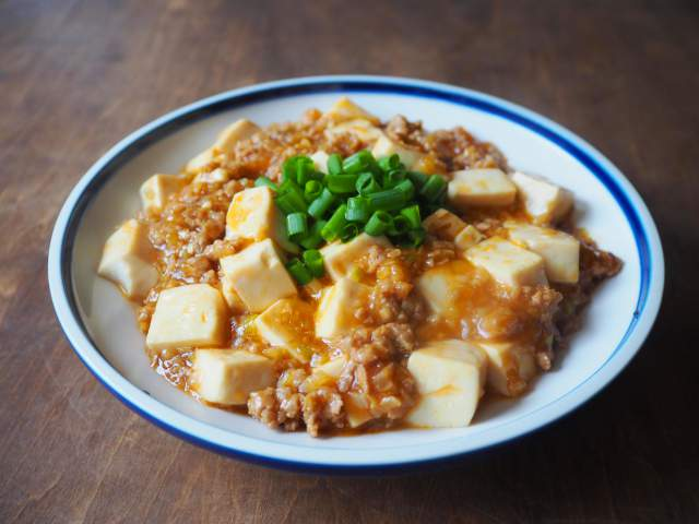【減塩】和風マーボー豆腐