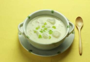 【減塩】かぶのクリームスープ