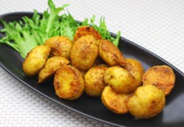【減塩】ローストポテト チキンカレー風味