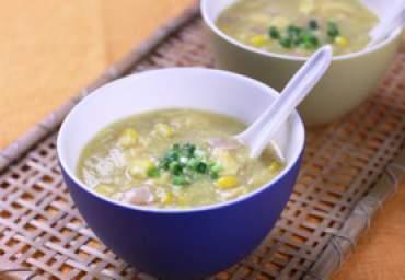 【減塩】中華風コーンスープ