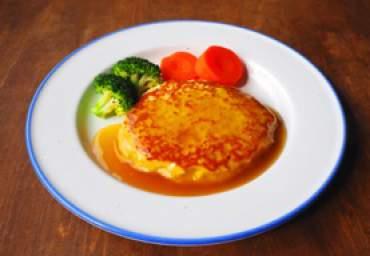 【減塩】豆腐ハンバーグ