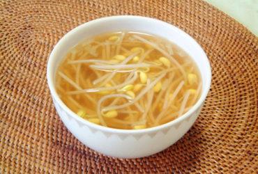 大豆もやしの韓国風スープ