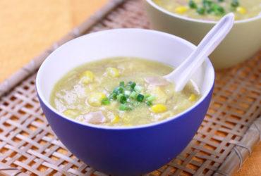 粟米湯(中華風コーンスープ)