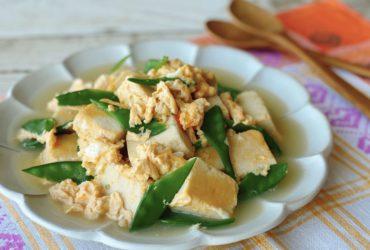 じゅわっと高野豆腐の卵とじ